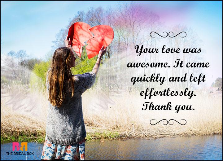 Hate Love Quotes - Thank You