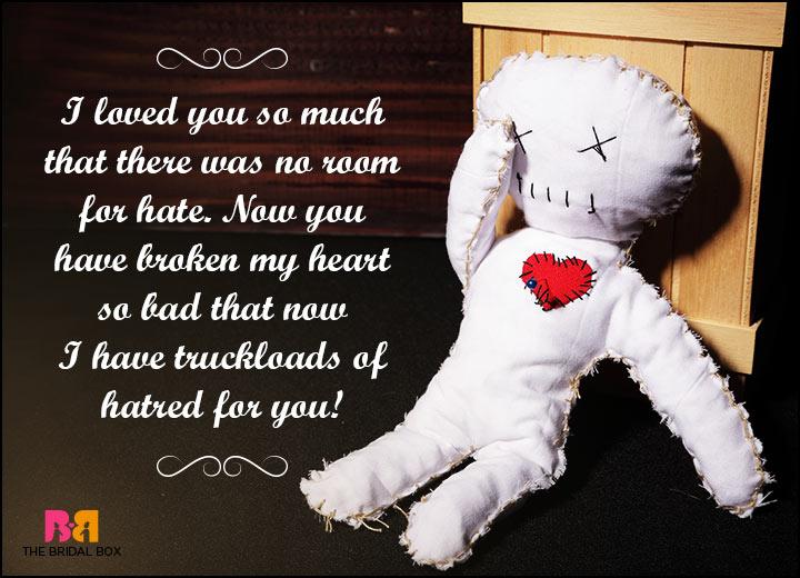 Hate Love Quotes - Bucketloads