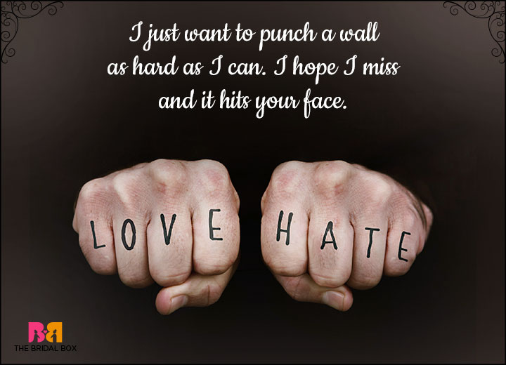Hate Love Status - I Just Want To Punch A Wall