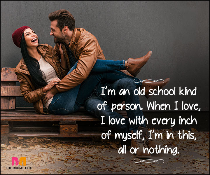 Heart Touching Love Quotes - All Or Nothing