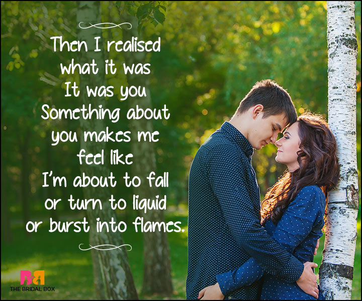 Heart Touching Love Quotes - Something About You