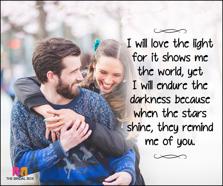 Heart Touching Love Quotes - The Stars Shine