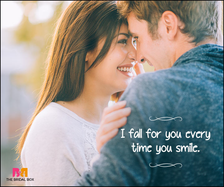 Heart Touching Love Quotes - Every Time You Smile