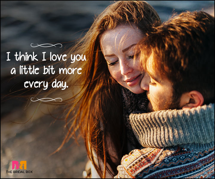 Heart Touching Love Quotes - I Think So