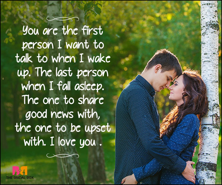 Heart Touching Love Quotes - You're My Person