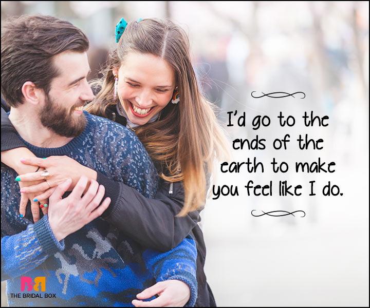 Heart Touching Love Quotes - To The Ends Of The Earth