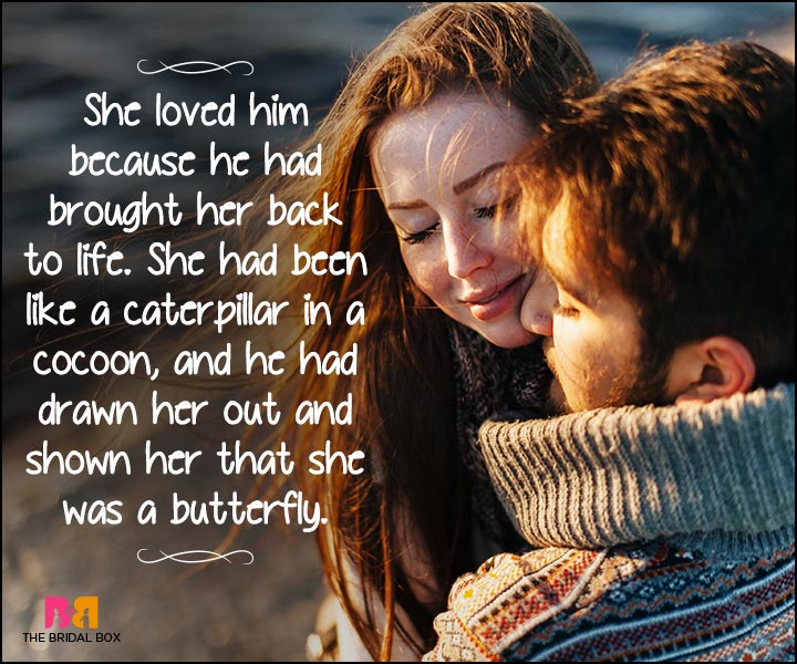 Heart Touching Love Quotes - She Was A Butterfly