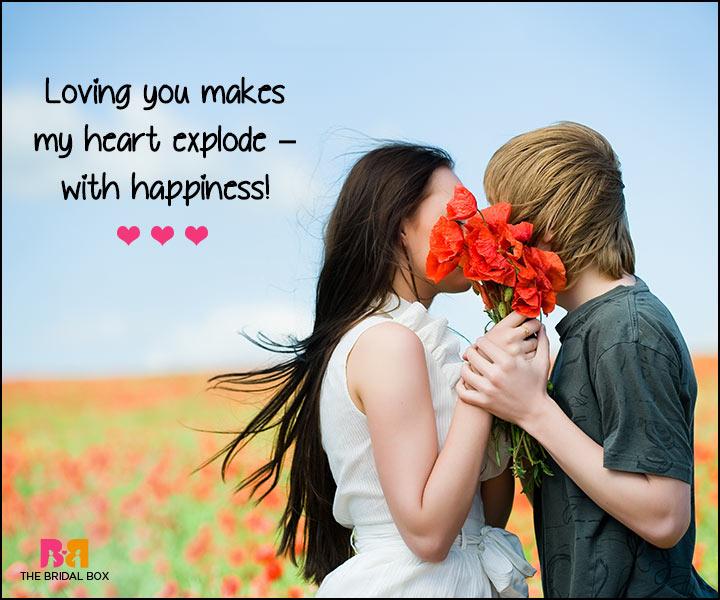 I Love U Messages For Boyfriend - Exploding Caramel