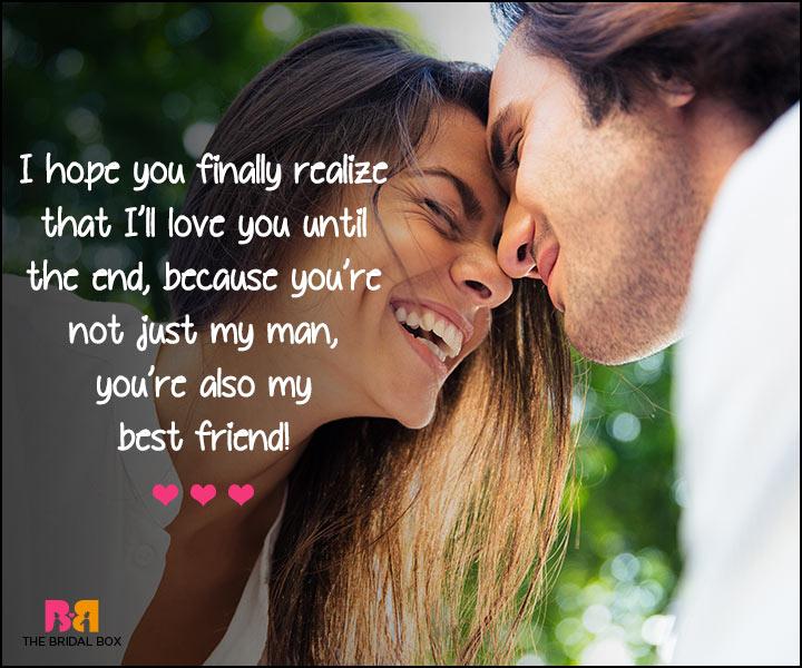I Love U Messages For Boyfriend - My Best Friend