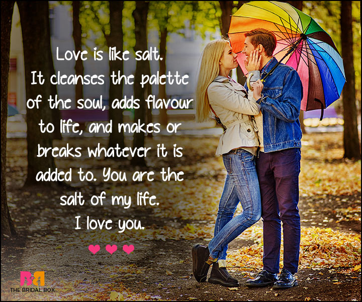 I Love U Messages For Boyfriend - Salt