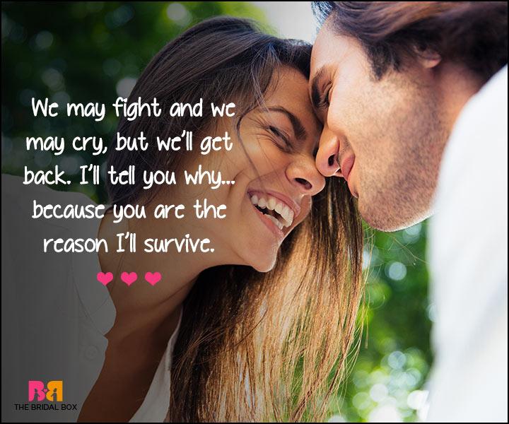 I Love U Messages For Boyfriend - I'll Survive