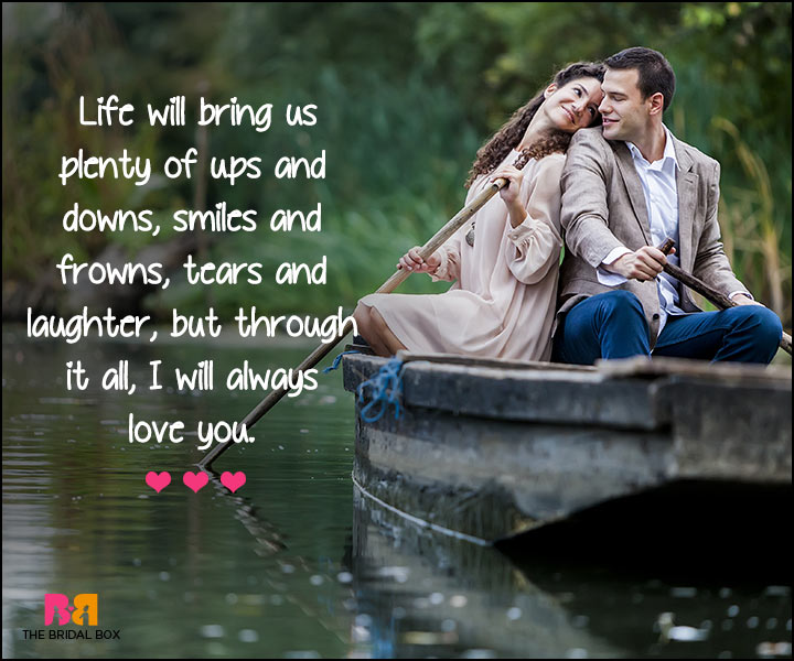 I Love U Messages For Boyfriend - My Life With You