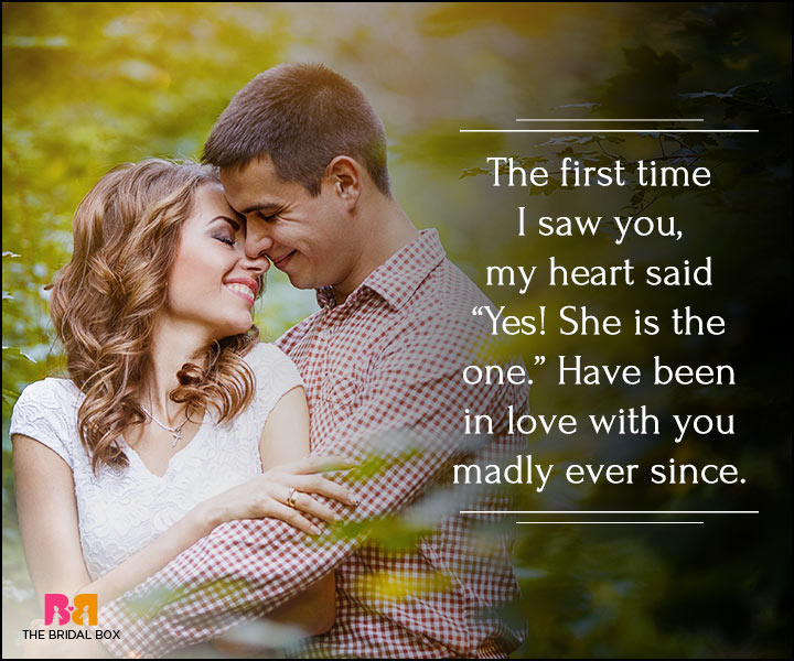 I Love You Quotes For Her - My Heart Said Yes!