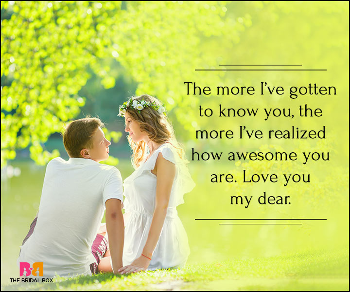I Love You Quotes For Her - You're Awesome