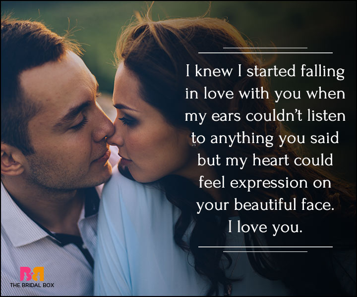 I Love You Quotes For Her - I Knew