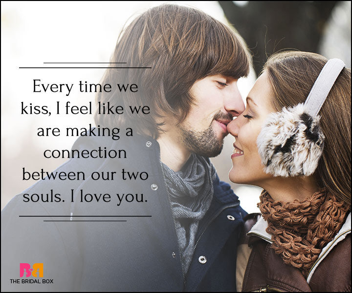I Love You Quotes For Her - Every Time We Kiss
