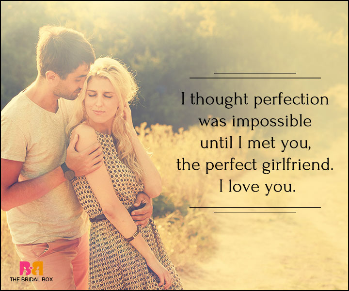 I Love You Quotes For Her - The Perfect Girlfriend