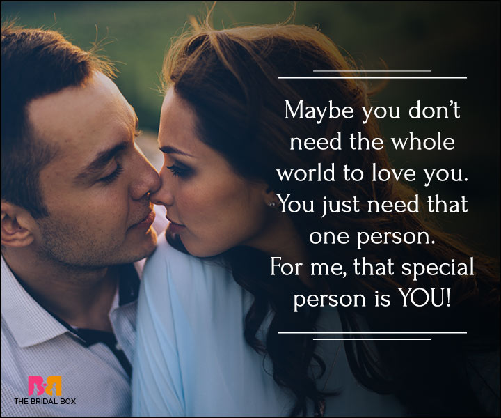 28 Touching Quotes To Make Someone Feel Special: 50 I Love You Quotes For Her