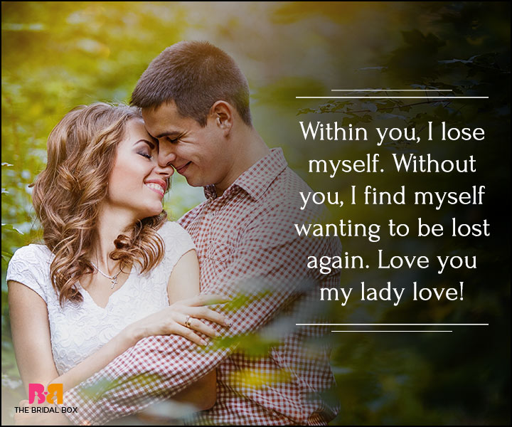 I Love You Quotes For Her - I Lose Myself