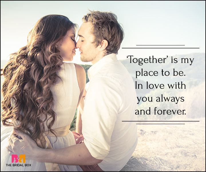 I Love You Quotes For Her - Together Always And Forever