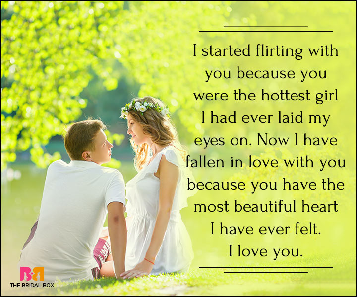 I Love You Quotes For Her - The Most Beautiful Girl