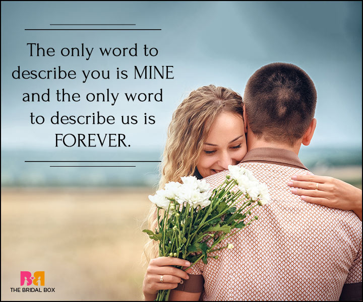 I Love You Quotes For Her - Mine Forever