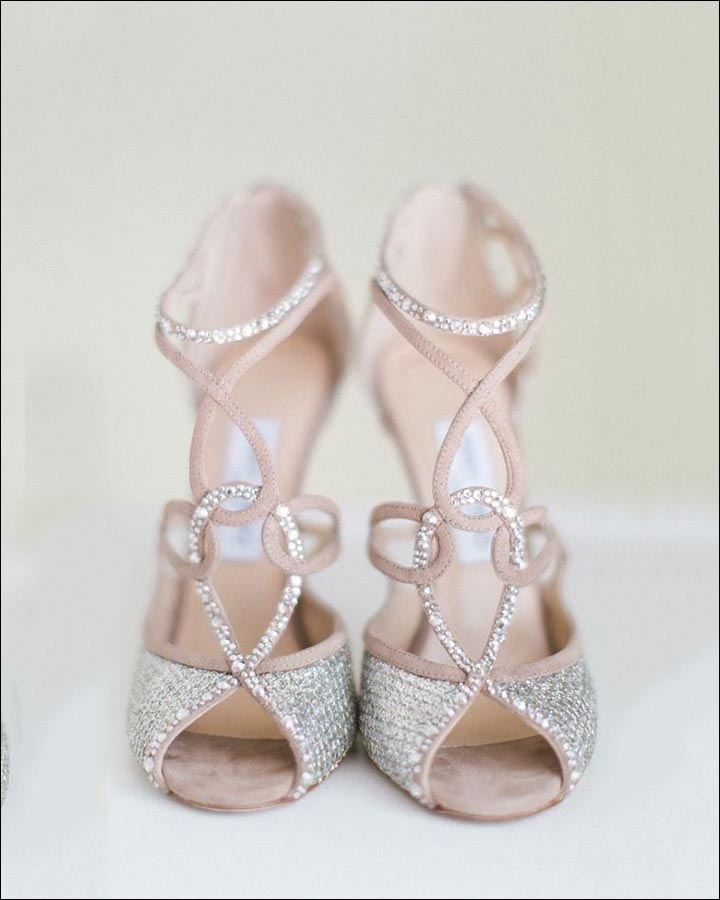 Jimmy Choo Wedding Shoes   Interlocked