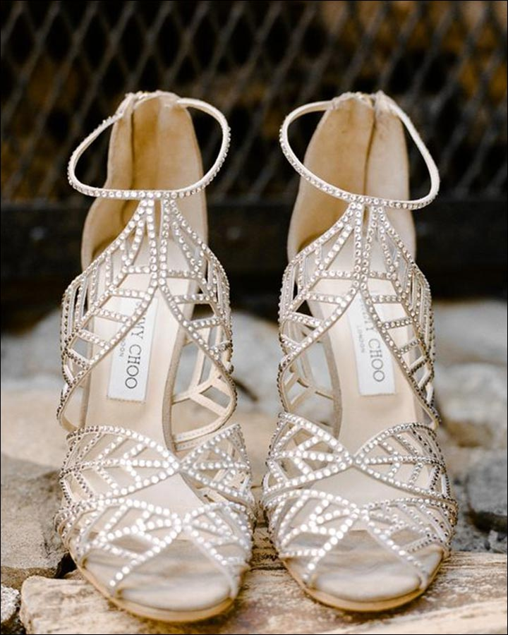 jimmy choo white wedding shoes