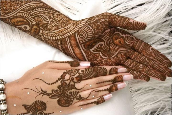 Muslim Mehndi Designs - Lines And Patterns