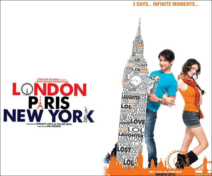 Bollywood Love Story Movies - London Paris New York