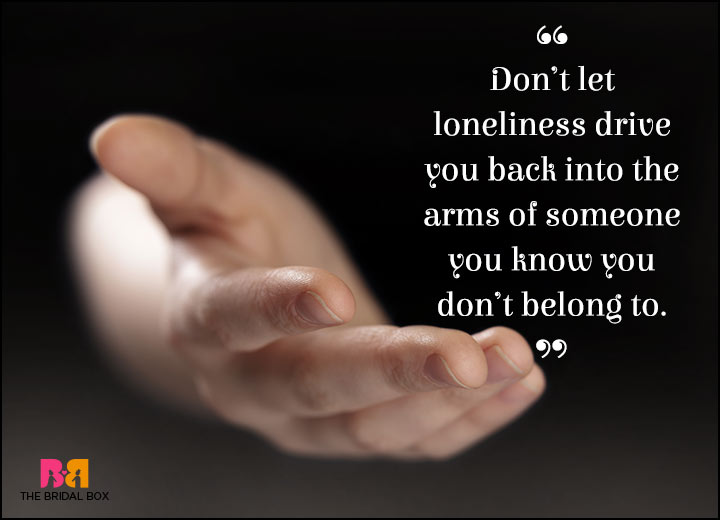 Lonely Love Quotes - The Wrong Road