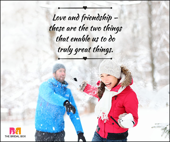 Love And Friendship Quotes - Loving Enablers