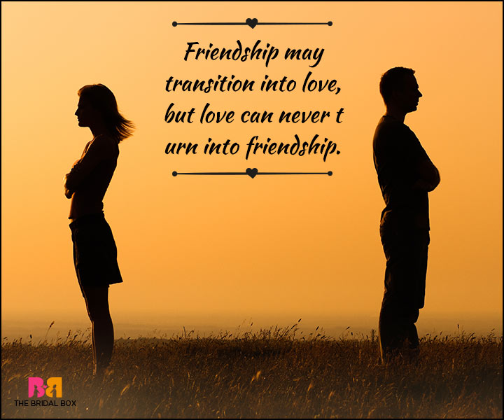 Love And Friendship Quotes - Not A Roundabout Trip