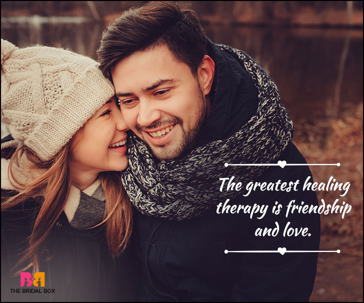 Love And Friendship Quotes - Healing Therapy