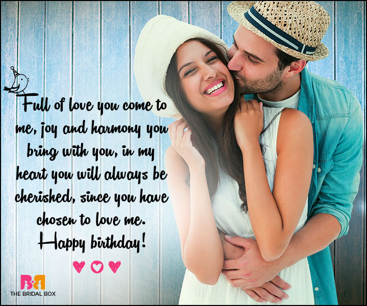 Love Birthday Messages - You Will Always Be Cherished