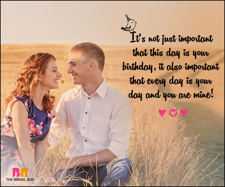 Love Birthday Messages - Every Day Is Your Day