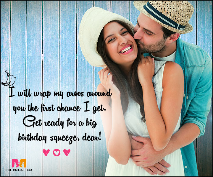 Love Birthday Messages - Get Ready For A Big Birthday Squeeze