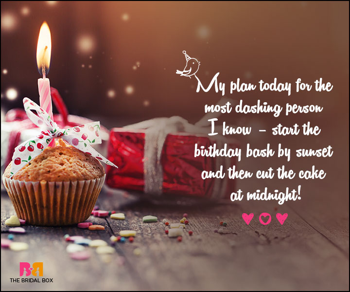 Love Birthday Messages - Birthday Bash By Sunset
