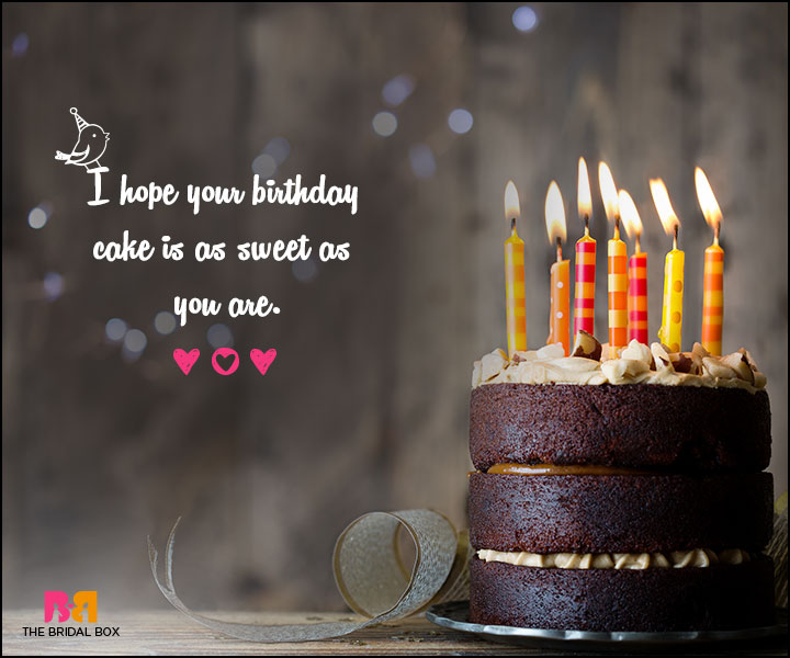 Love Birthday Messages - As Sweet As You