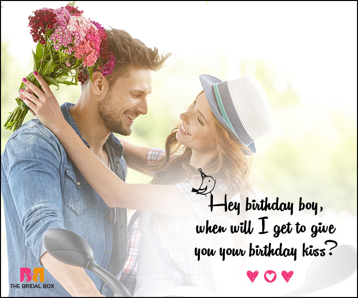 Love Birthday Messages - Hey Birthday Boy
