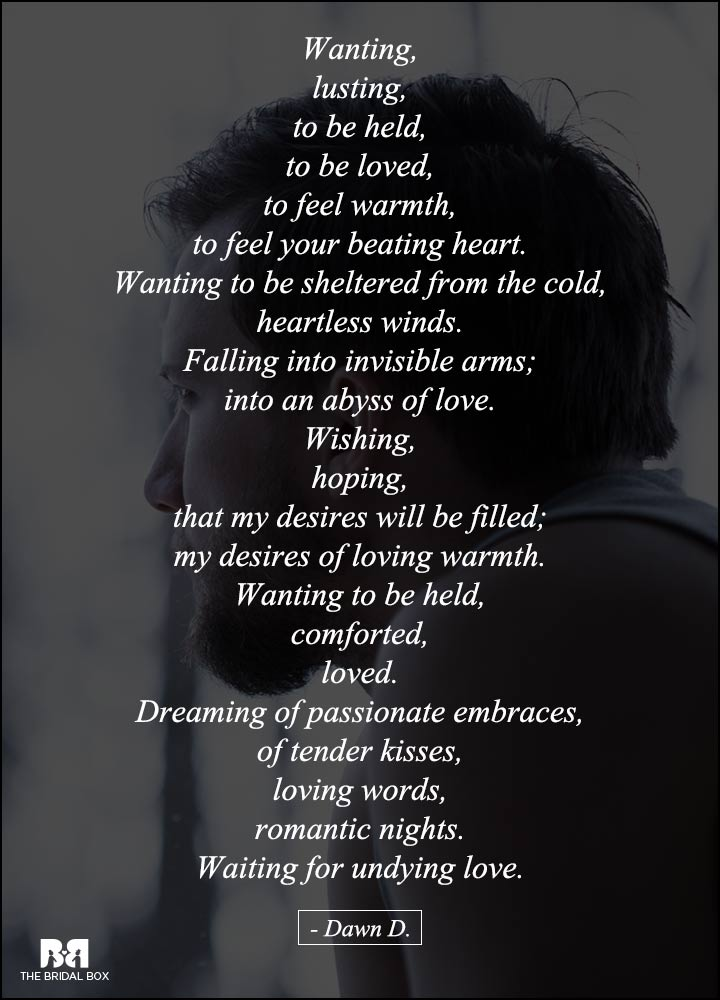Love Failure Poems - Waiting