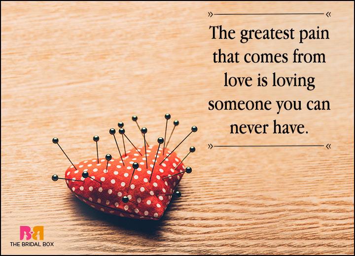 Love Failure Status - The Greatest Pain