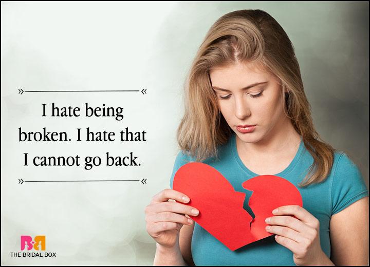 Love Failure Status - I Hate It