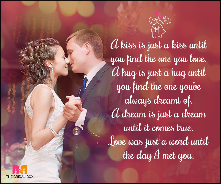 Love Marriage Quotes - A Kiss