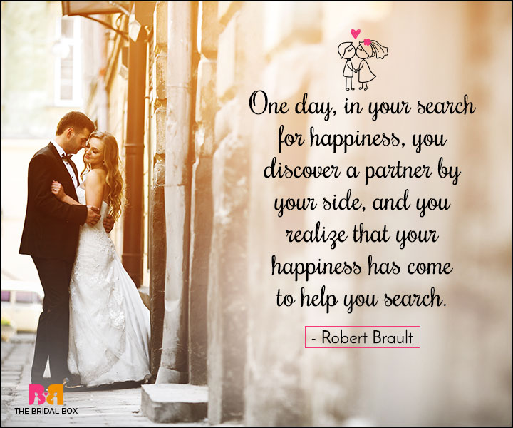 Love Marriage Quotes - One Day You'll Know