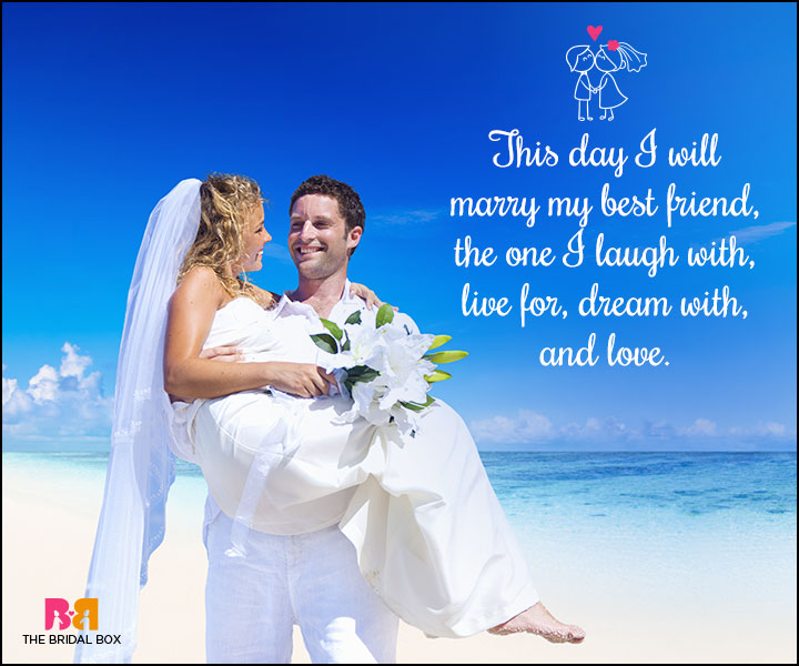 Love Marriage Quotes Pleasing 35 Love Marriage Quotes To Make Your Dday Special