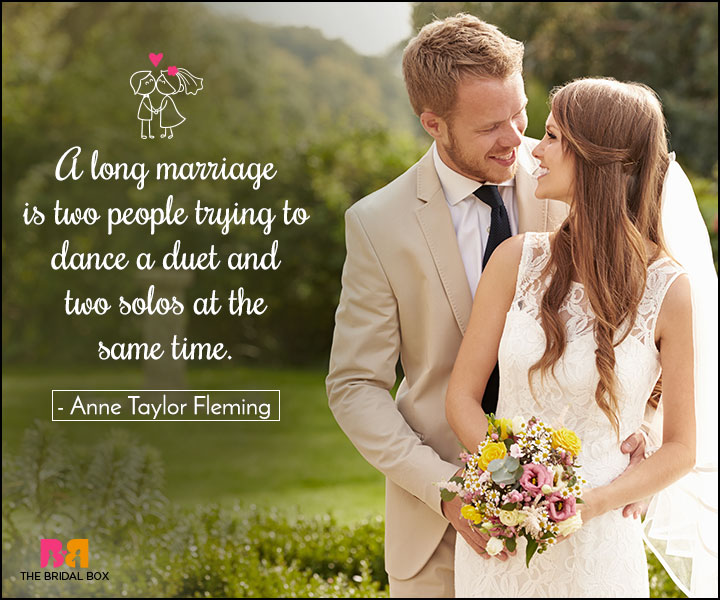 Love Marriage Quotes - A Long Marriage