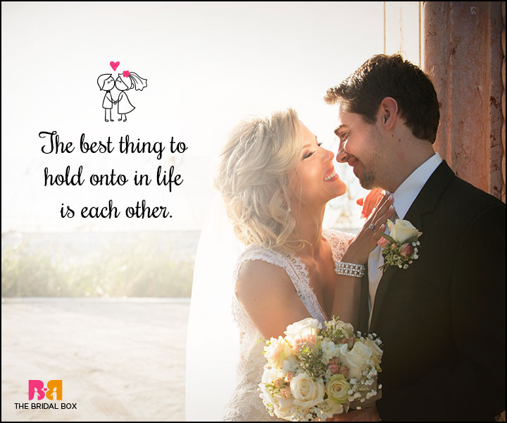 Love Marriage Quotes - The Best Thing