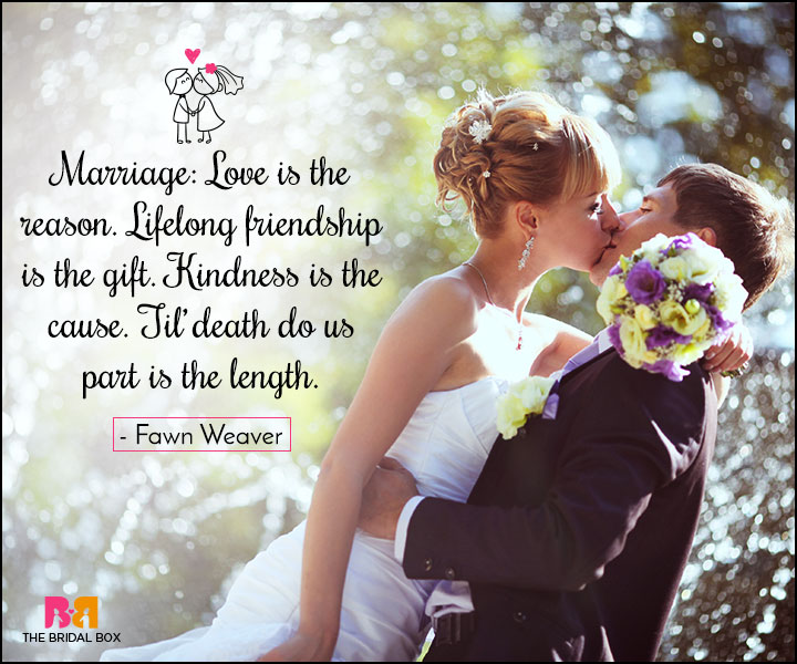 Love Marriage Quotes Gorgeous 35 Love Marriage Quotes To Make Your Dday Special