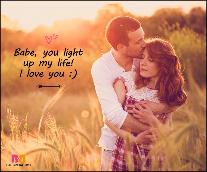Love Messages For Her - You Light Up My Life